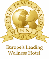 europes leading wellness hotel 2018 winner shield 256 200x239
